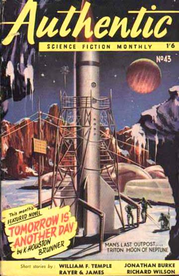 Authentic SF V1 No.43 March 1954