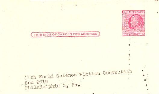 1953 Hugo Ballot Side A