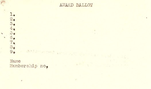1953 Hugo Ballot Side B