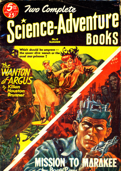 Two Complete Science Adventure Books No.9